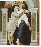Mary Jesus And John The Baptist Wood Print