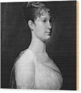 Mary Lee Fitzhugh Custis (1788-1853) Wood Print