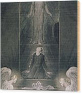 Mary Magdalene At The Sepulchre Wood Print
