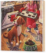 Mary Mary Quite On Great Meals Wood Print