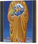 Mary Most Holy Mother Of All Nations 080 Wood Print