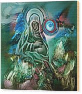 Mary Mother Of Jesus Wood Print