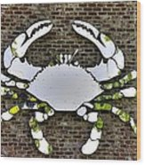 Maryland Country Roads - Camo Crabby 1a Wood Print