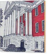 Maryland Wood Print