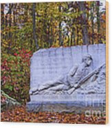 Maryland Monument At Gettysburg Wood Print