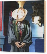 Maryland Renaissance Festival - A Fool Named O - 121210 Wood Print by DC Photographer