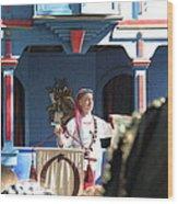 Maryland Renaissance Festival - A Fool Named O - 121224 Wood Print