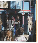 Maryland Renaissance Festival - A Fool Named O - 121228 Wood Print