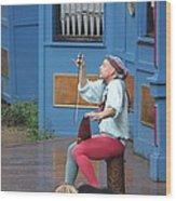 Maryland Renaissance Festival - A Fool Named O - 121232 Wood Print