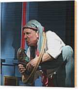 Maryland Renaissance Festival - A Fool Named O - 121234 Wood Print by DC Photographer