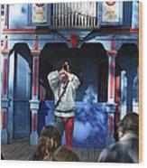 Maryland Renaissance Festival - A Fool Named O - 12124 Wood Print