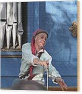 Maryland Renaissance Festival - A Fool Named O - 12129 Wood Print by DC Photographer
