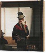 Maryland Renaissance Festival - Johnny Fox Sword Swallower - 121278 Wood Print