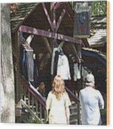 Maryland Renaissance Festival - Merchants - 121264 Wood Print by DC Photographer