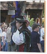 Maryland Renaissance Festival - People - 1212108 Wood Print