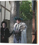 Maryland Renaissance Festival - People - 121223 Wood Print by DC Photographer