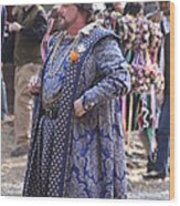 Maryland Renaissance Festival - People - 121250 Wood Print by DC Photographer