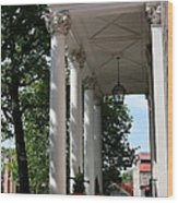 Maryland State House Columns Wood Print