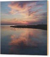 Maryland Sunset Wood Print