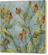 Mary's Garden Wood Print