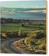 Marysville Valley Wood Print