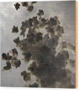 Mascleta Explosion Wood Print