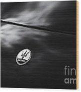 Maserati 3500 Gt Abstract Wood Print