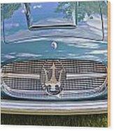 Maserati A6g 54 2000 Zagato Spyder 1955 Wood Print