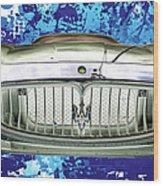 Maserati Granturismo I I I Wood Print