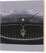Maserati Granturismo I Wood Print