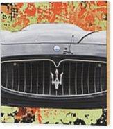 Maserati Granturismo I V Wood Print