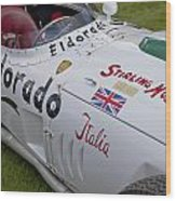 Maserati Tipo 420 M 58 Eldorado 1958 Wood Print