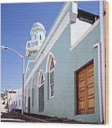 Masjid Boorhaanol Bo Kaap Wood Print
