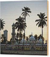 Masjid Jamek - Kuala Lumpur Wood Print