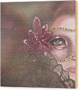 Masked IIi Wood Print