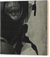 Masked Wood Print