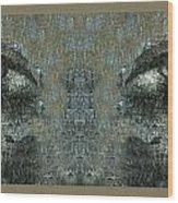 Maskeye Wood Print