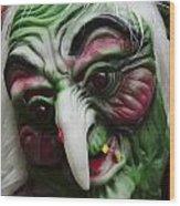 Masks Fright Night 5 Wood Print