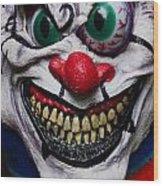 Masks Fright Night 6 Wood Print