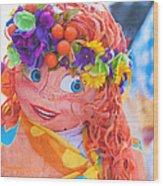 Maslenitsa Dolls 1. Russia Wood Print