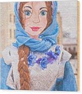 Maslenitsa Dolls 8. Russia Wood Print