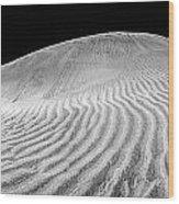 Maspalomas Dune Wood Print