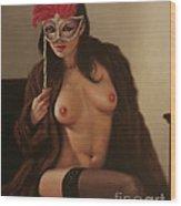 Masquerade IIi Wood Print by John Silver