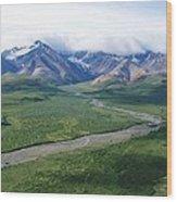 Mass Wilderness Wood Print