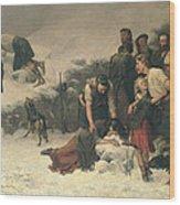 Massacre Of Glencoe, 1883-86 Wood Print