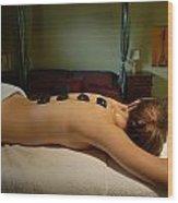 Massage Wood Print