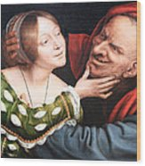 Massays' Ill Matched Lovers Or Badly Matched Lovers Wood Print
