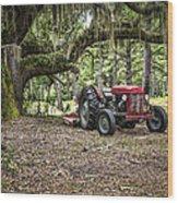 Massey Ferguson - Live Oak Wood Print