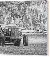 Massey Ferguson Tractor Wood Print