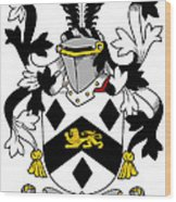 Massy Coat Of Arms Irish Wood Print